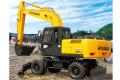 R210W-7轮式挖掘机