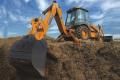 580N挖掘装载机