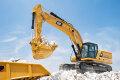 新一代345 GC液压挖掘机