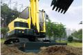 R60-9履带挖掘机