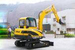 玉柴YC60-8履带挖掘机