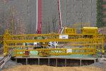特雷克斯2450水泥摊铺机