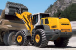 利勃海尔L 580轮式装载机