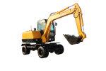 晉工JGM909L輪式挖掘機