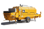 普茨迈斯特BSA 2110 HP D混凝土拖泵