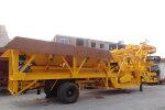 南侨YHZD35移动式混凝土搅拌设备