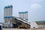 南侨HZS120商品混凝土搅拌设备