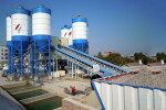 南侨HZS180商品混凝土搅拌设备