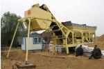 南侨YWCB120移动式稳定土搅拌设备