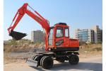 晉工JGM907L輪式挖掘機