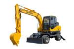 寶鼎WYL80-6輪式挖掘機