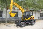 寶鼎WYL90-7輪式挖掘機
