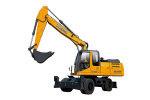 徐工XE210W輪式挖掘機