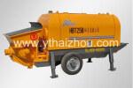 海州机械HBT25B拖泵