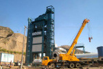 亚龙HXB2000强制间歇式沥青混合料搅拌设备