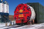 铁建重工双护盾TBM