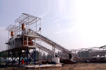 铁建重工HZS180混凝土搅拌站
