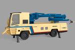 铁建重工HPS3016轮胎式混凝土喷射台车(基本型)