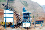 亚龙LB1000沥青混凝土搅拌设备