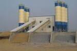 亚龙HZS120水泥混凝土搅拌站