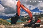 普什重机PZ250LC-8履带挖掘机