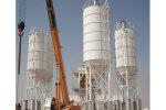 信瑞重工HZS100固定式混凝土搅拌站