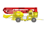 信瑞重工JBC20DR3搅拌布料泵车