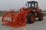 合力ZL35夹草装载机