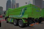 红岩杰狮 350马力 6X4 自卸车(CQ3255HTG384)(U型渣土车)
