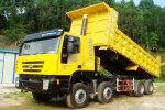 红岩杰狮C100 350马力 8X4 自卸车(高顶)(CQ3315HTG486)