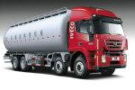 红岩SGZ5250GFLCQ4低密度粉粒物料运输车