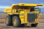 小松730E电动轮式矿用自卸卡车