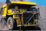 小松830E-AC电动轮式矿用自卸卡车