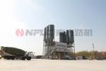 南方路机HZS200全环保型商品混凝土搅拌站