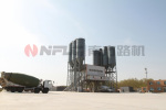 南方路机HZS250全环保型商品混凝土搅拌站