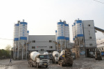 南方路机HLS120商品混凝土搅拌楼