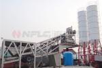 南方路机HZS50一体式移动式混凝土搅拌站