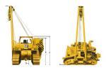 卡特彼勒583T吊管机