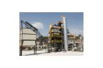 铁拓机械RLB-600+600固定式原生加再生沥青混合料再生设备