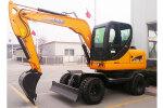 犀牛XN80-9輪式挖掘機
