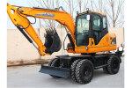 犀牛XN80-L輪式挖掘機