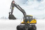 勤牛QNL150輪式挖掘機