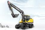 勤牛QNL150S輪式挖掘機