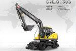 勤牛QNLG150S輪式挖掘機