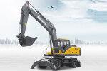 勤牛QNL220輪式挖掘機