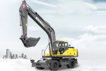 勤牛QNLW220輪式挖掘機