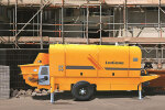 柳工HBT8515158E混凝土拖泵