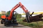 南特NT65W輪式挖掘機