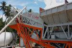 岳首HZSY50移动式混凝土搅拌站