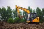 柳工CLG9075E履带式挖掘机